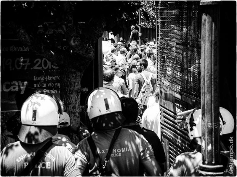 Lock Down ... Athens view no 131.