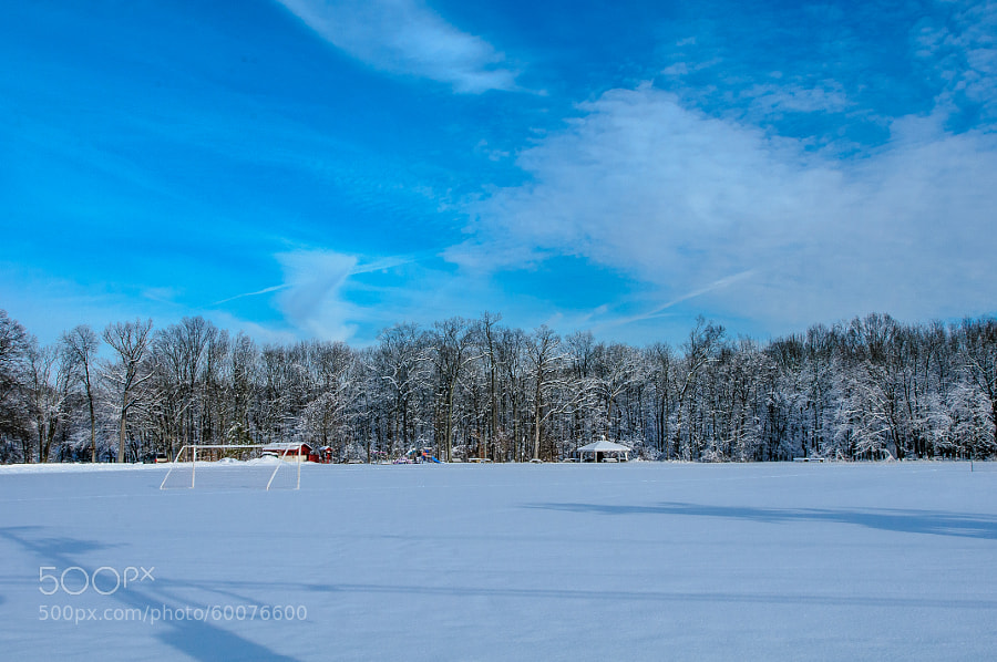 After a snowstorm that gave us 8 inches of new snow.  So beautiful to view and experience.