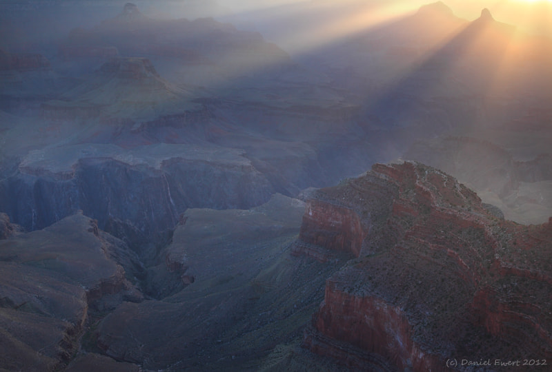 Photograph Sunrise on the Rim by Daniel Ewert on 500px