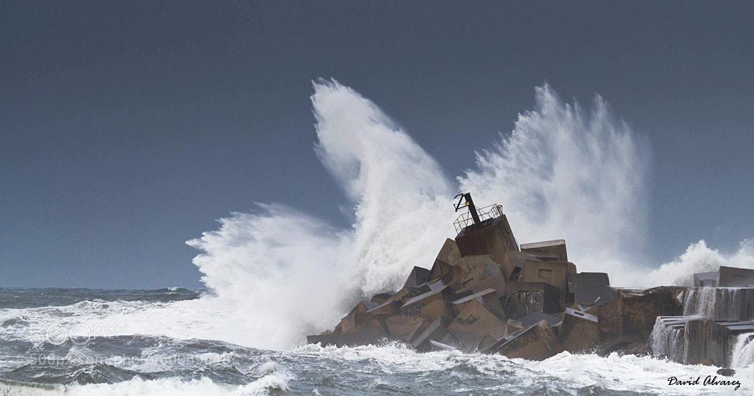 Photograph Angry sea by David Alvarez on 500px