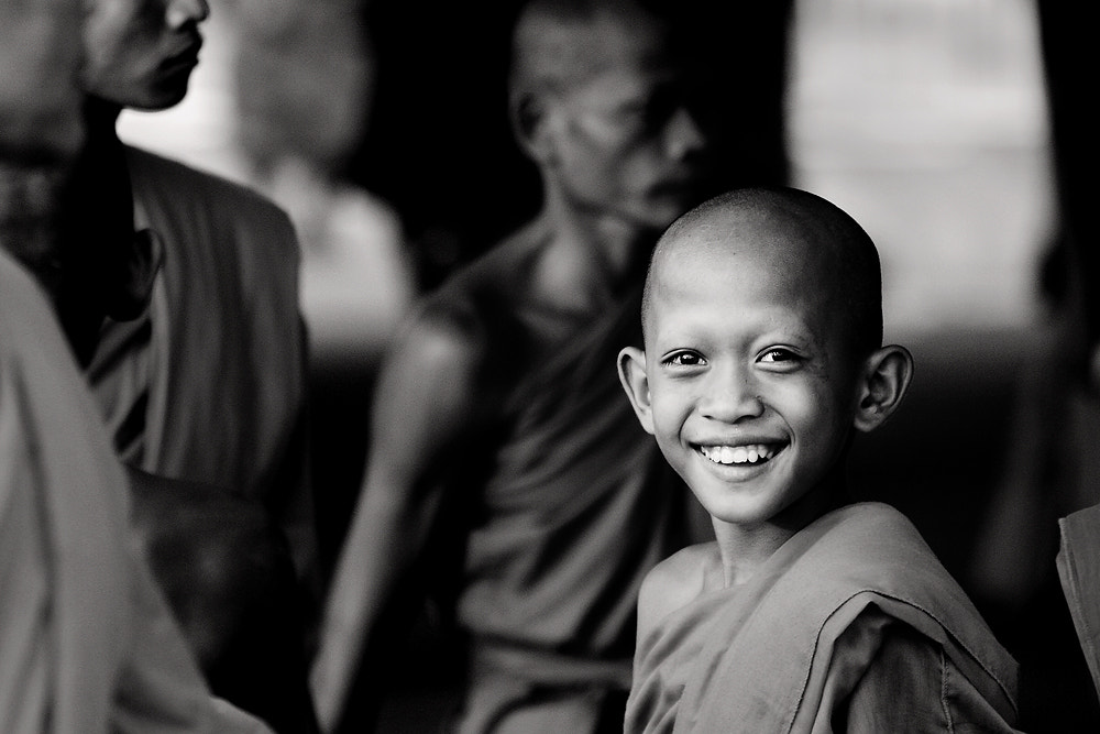 Photograph Novice's Smile by Jakkijj Suriyachairadee on 500px