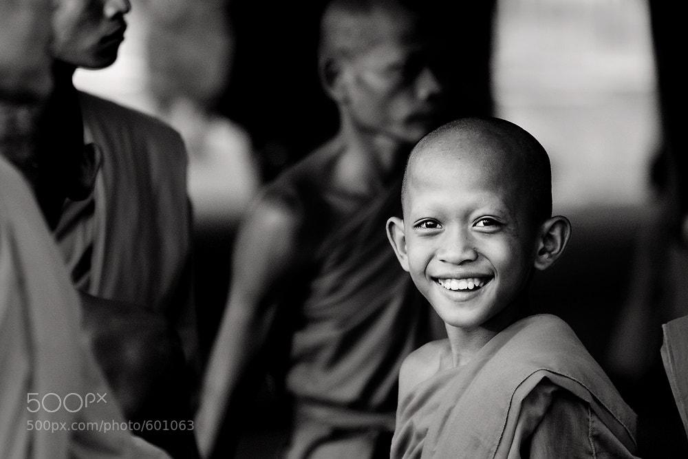 Photograph Novice's Smile by Jakkijj Suriyachairadee on 500px