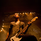 Bass player Andy Trick from The Devil Wears Prada (Metalcore-Band). The Devil Wears Prada is an American metalcore band from Dayton, Ohio.
