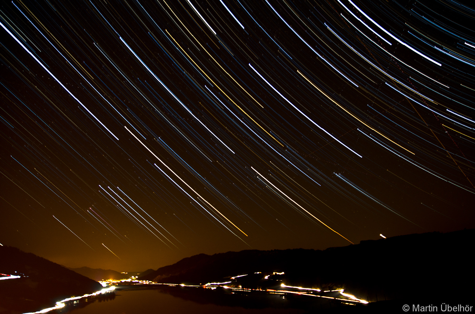 Photograph Startrail at the Alpsee by Martin Übelhör on 500px
