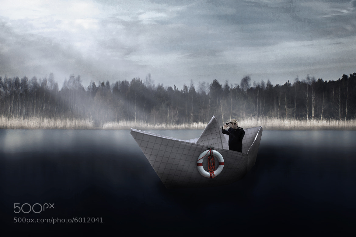 Photograph Boat On The Lake by Tim  Station  on 500px