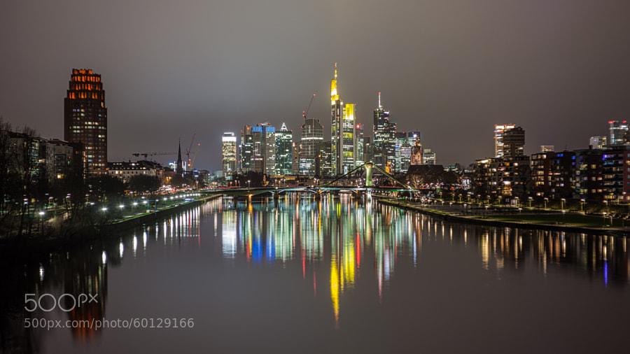 Photograph Skyline Frankfurt by Sven Kluegl on 500px