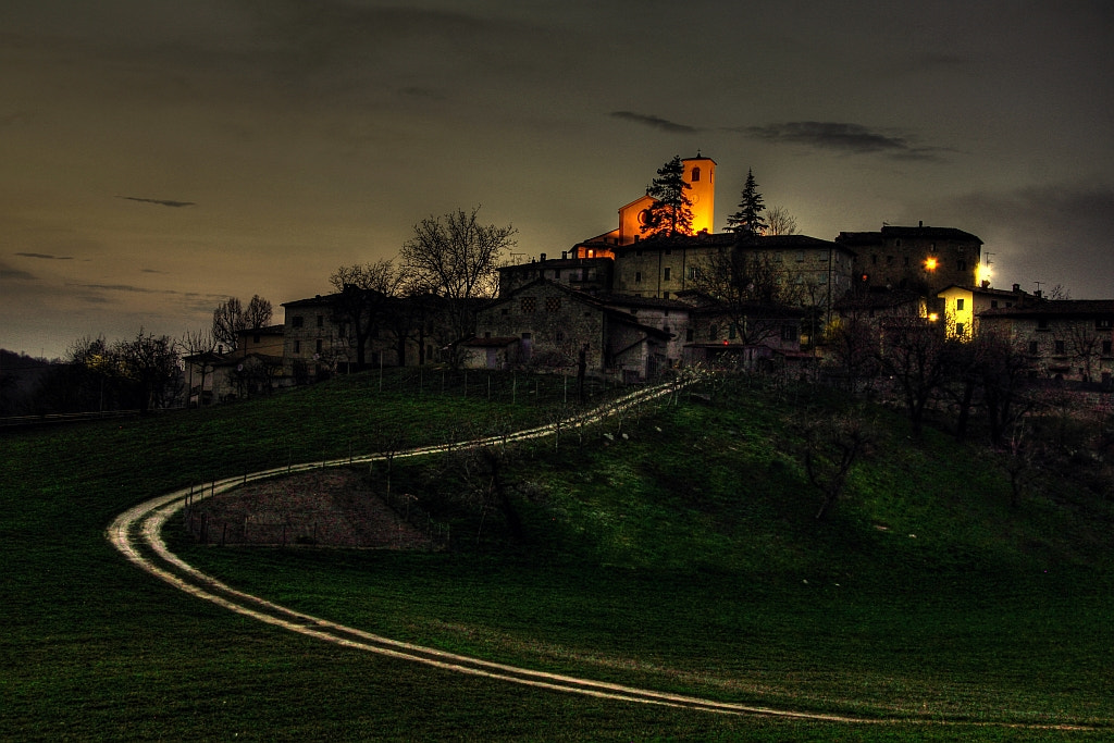 Photograph tonight the way back to my village Montecorone (zocca modena italy)_0737_dvd 15 by primo masotti on 500px