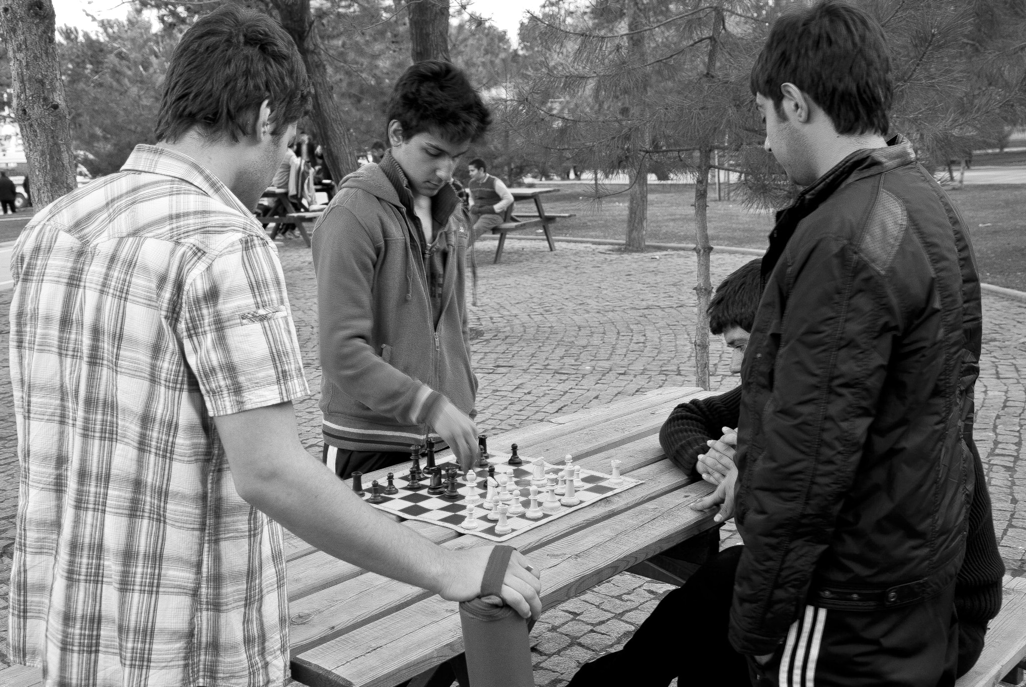 Photograph Men who play chess by Ahmet Yeşil on 500px