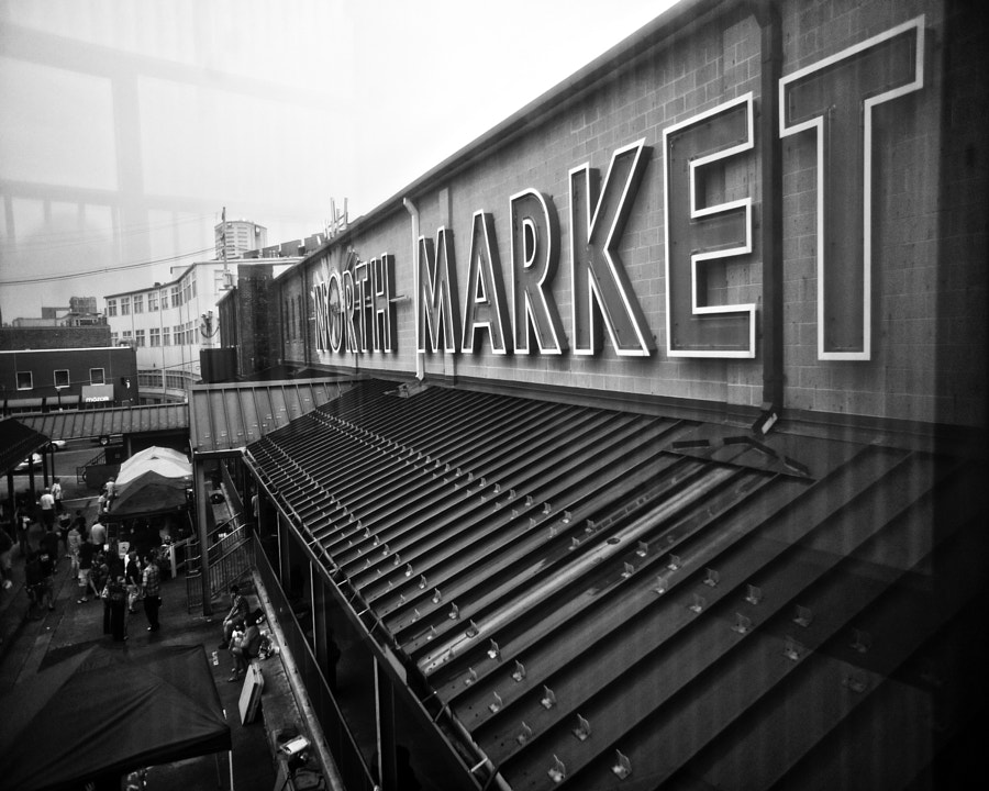 Rainy Market Day