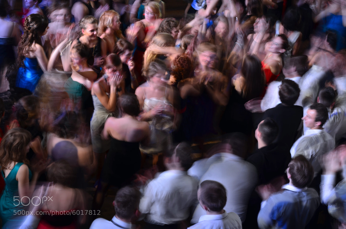 Photograph high school party by Slawek Potasz on 500px