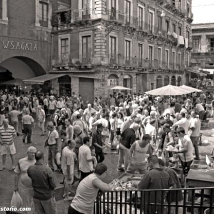 """Fish Market """"La Piscaria"""" at Catania"""