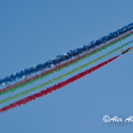 Colorful Air Show....End to End.