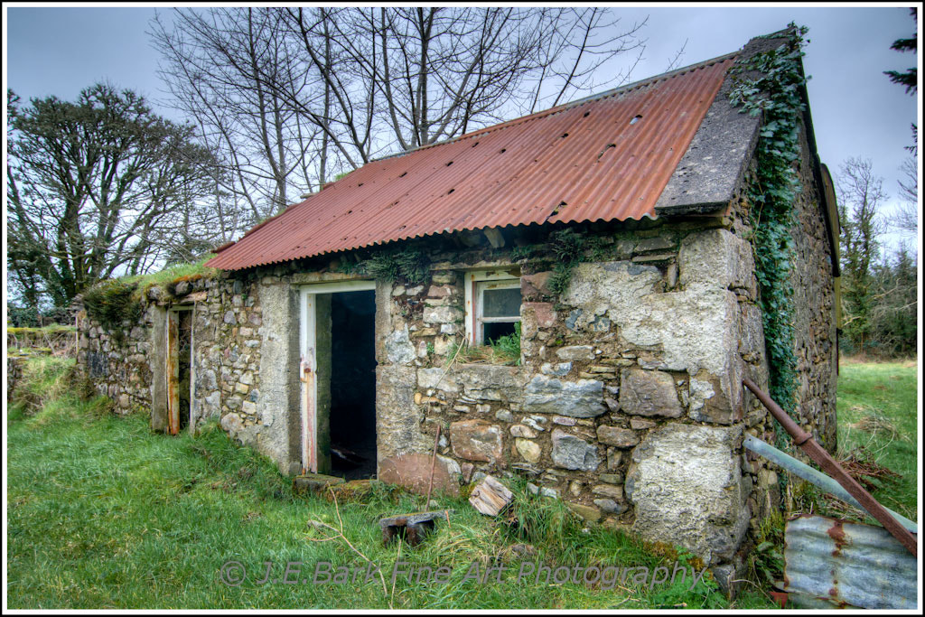 Photograph Cottage On The Old Sod by J. E. Bark on 500px