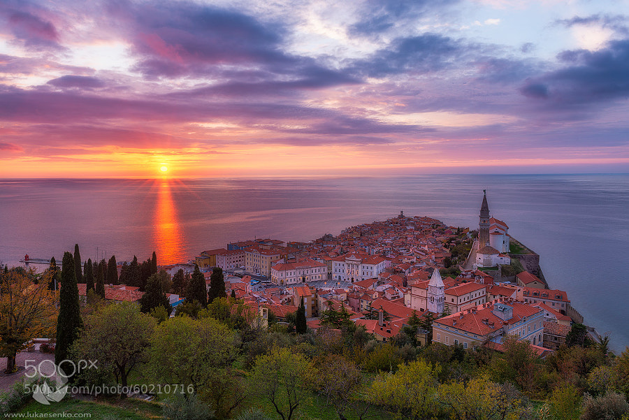 Photograph Adriatic sunset by Luka Esenko on 500px