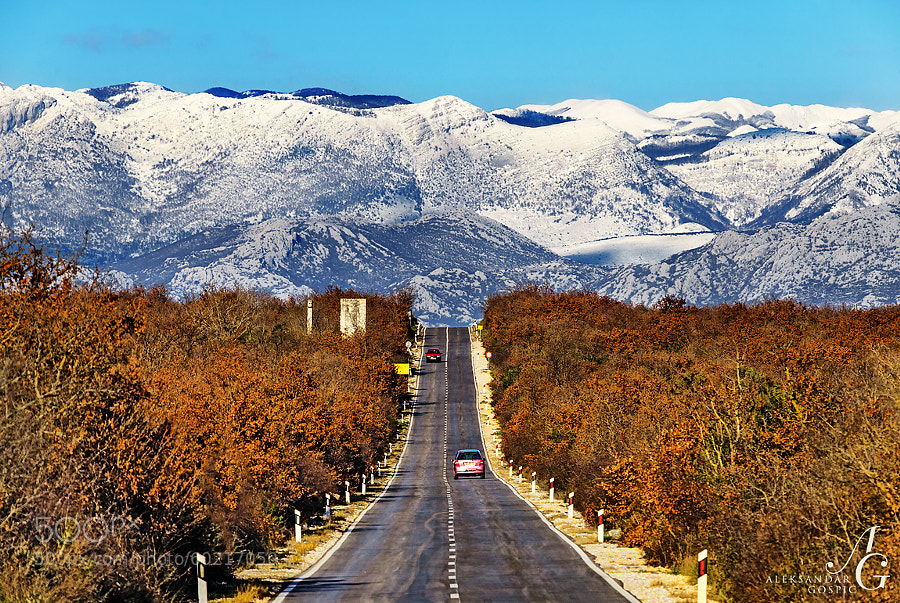 Heading for the Velebit mountain from Zadar, a lifetime of excitement