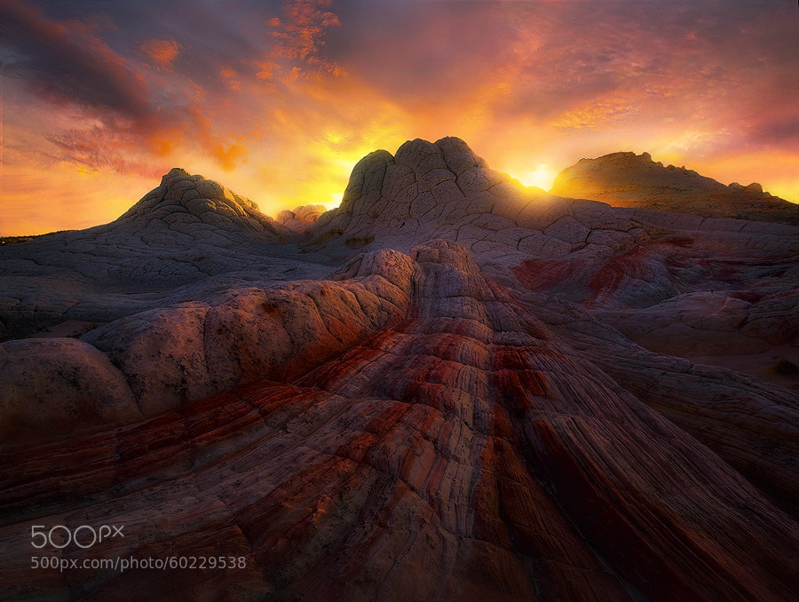 Photograph Fire Planet by Marc  Adamus on 500px