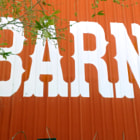 The back of The Red Barn in Tarzana, California.