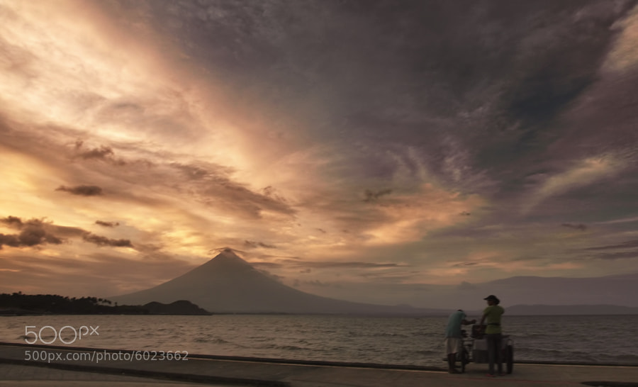 Photograph Mayon Volcano by Landz Enca on 500px