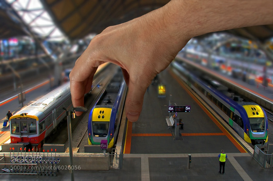 Photograph Southern Cross Train Set by Yanic Ziebel on 500px