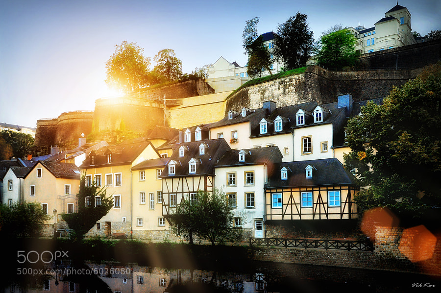 Photograph Luxembourg in the rays of sun. by Viktor Korostynski on 500px
