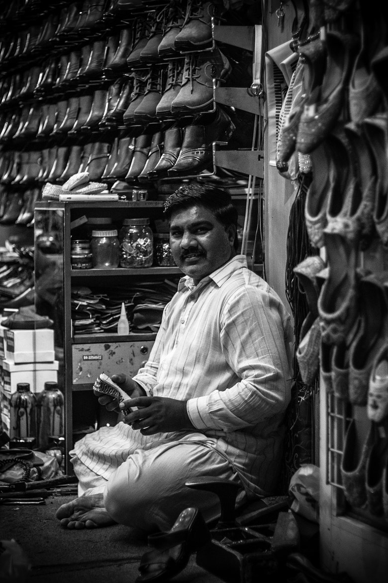 Photograph Street Side Cobbler by Yohaan Kerawalla on 500px
