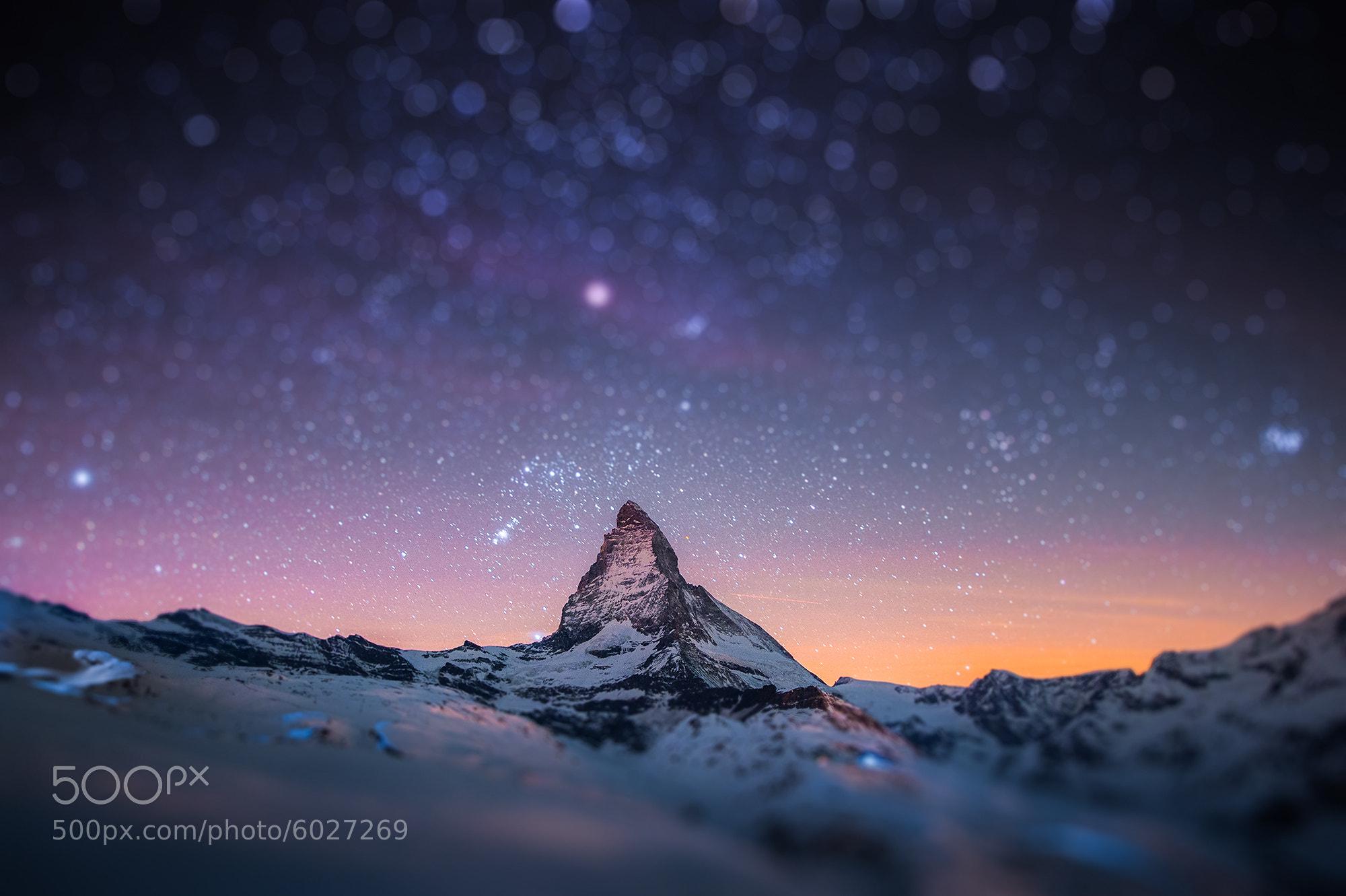 Photograph Mini Matterhorn by Coolbiere. A. on 500px