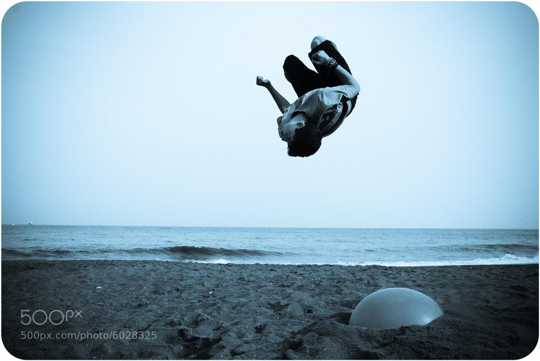 Photograph Beach jumper by Jan Štros on 500px