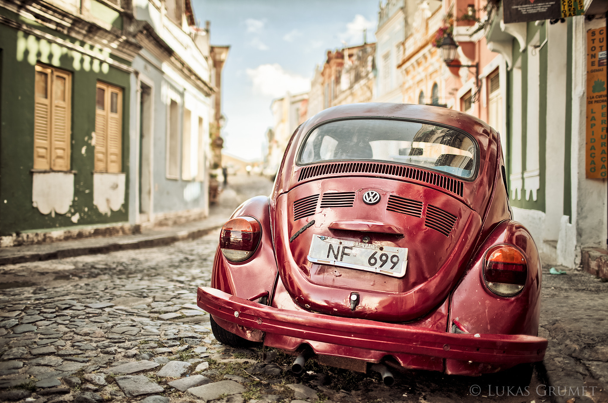 Photograph VW in South America by Lukas Grumet on 500px