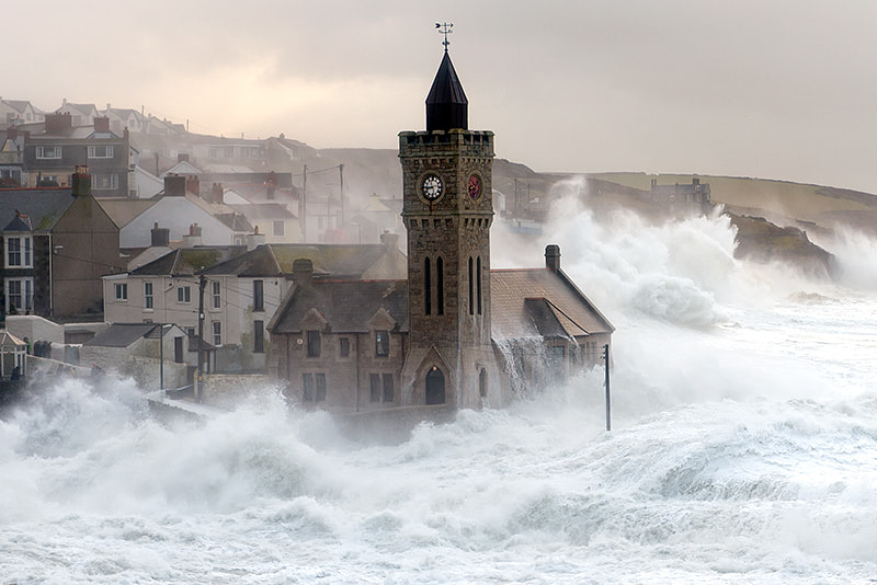 Photograph Porthleven Storm by Lloyd W.A. Cosway [DEVONshots.com] on 500px