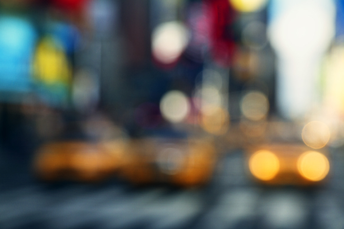 Photograph Times Square Taxi by Wade Odlum on 500px