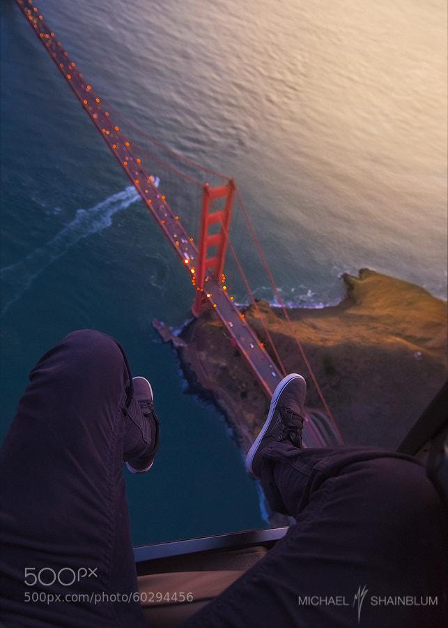 Photograph Golden Gate Vertigo by Michael Shainblum on 500px