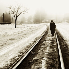 last home train by Vladimir Perfanov (val_perfanov)) on 500px.com