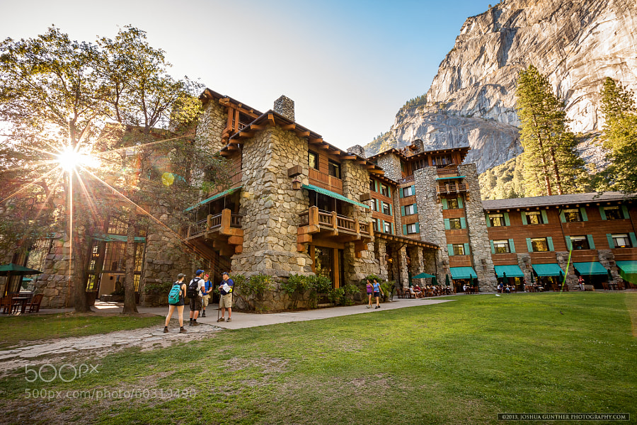 Ahwahnee Hotel -  Yosemite by Joshua Gunther on 500px.com