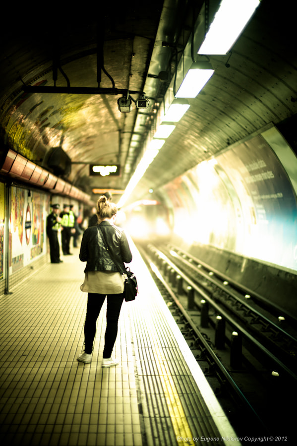 Photograph Waiting for a tube, London by Eugene Nikiforov on 500px