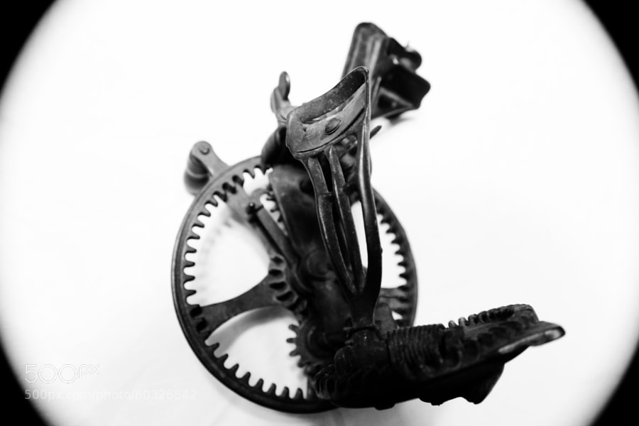 Mechanical Apple Peeler by Jeff Carter on 500px.com