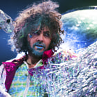 Постер, плакат: The Flaming Lips with blue lips
