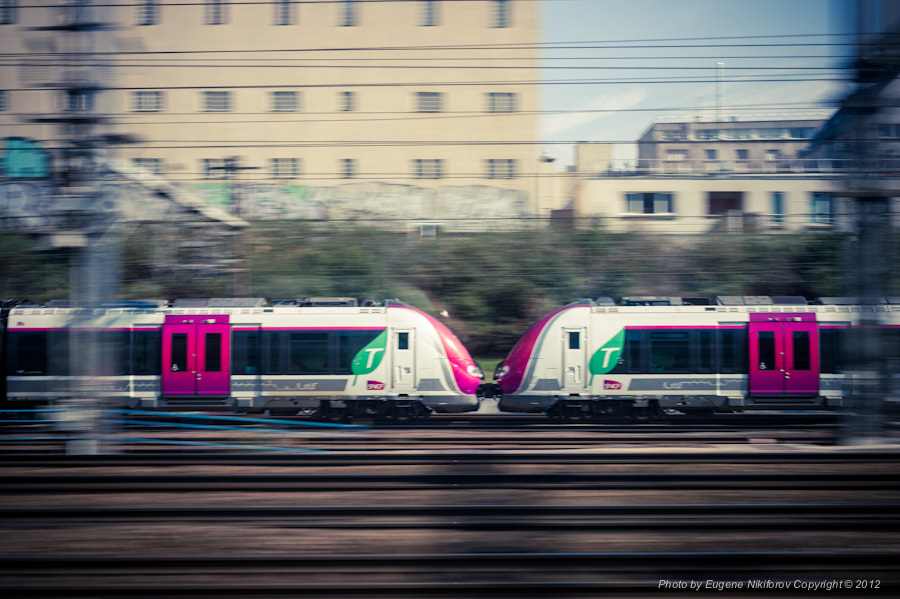 Photograph Bullet trains, France by Eugene Nikiforov on 500px
