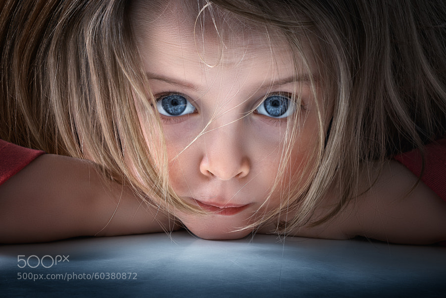 Photograph Tired little Mila II by John Wilhelm is a photoholic on 500px