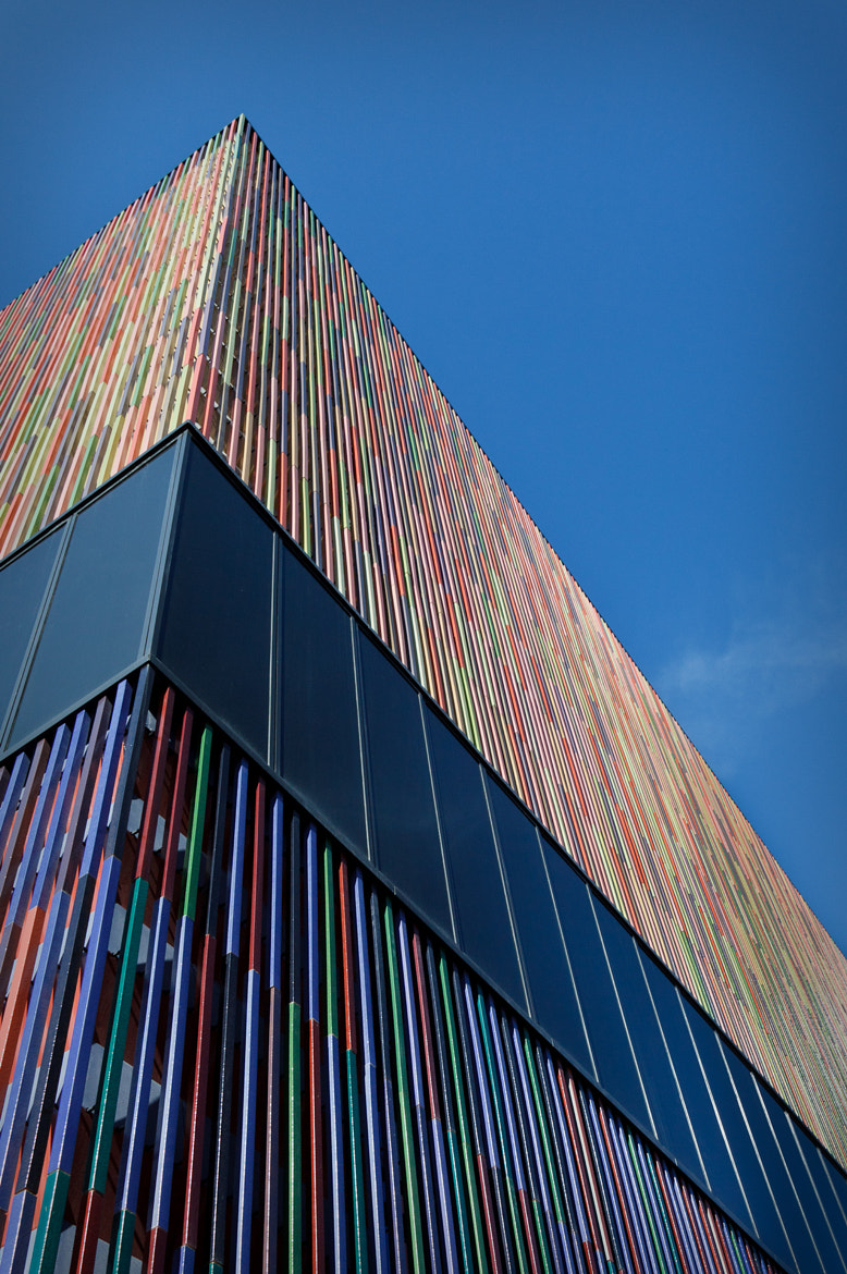Photograph Colorful Cladding | Museum Brandhorst by Dr. Martin Zeile on 500px