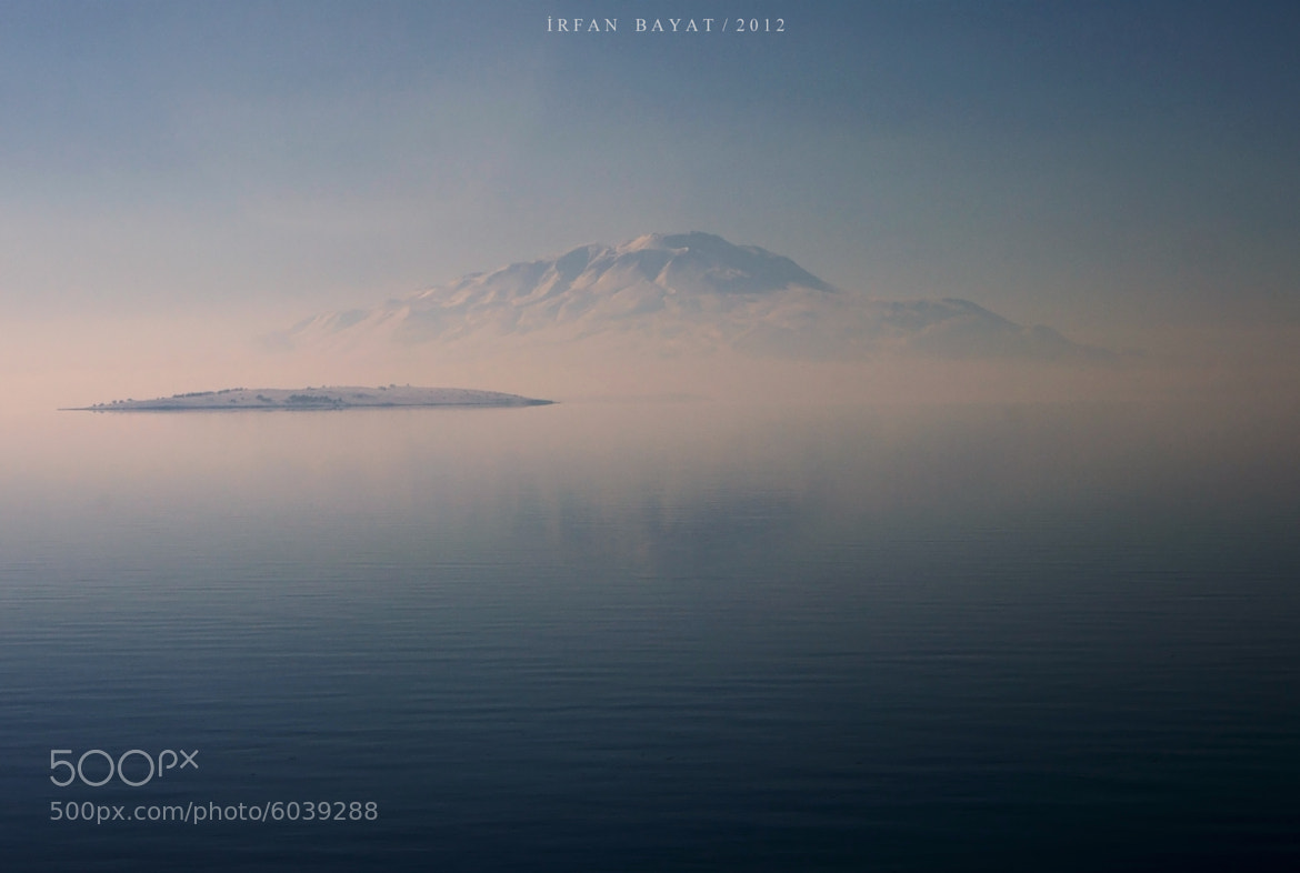 Photograph fog,lake and mountain ( süphan ) by İrfan Bayat on 500px