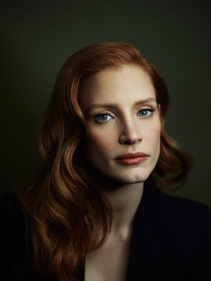 Photograph Jessica Chastain by Joey L. on 500px