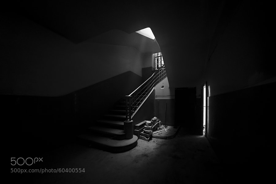 Photograph BASEMENT by Aurèle Taillard on 500px