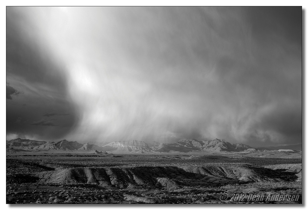 Photograph Nevada Storm by Dean Andersen on 500px