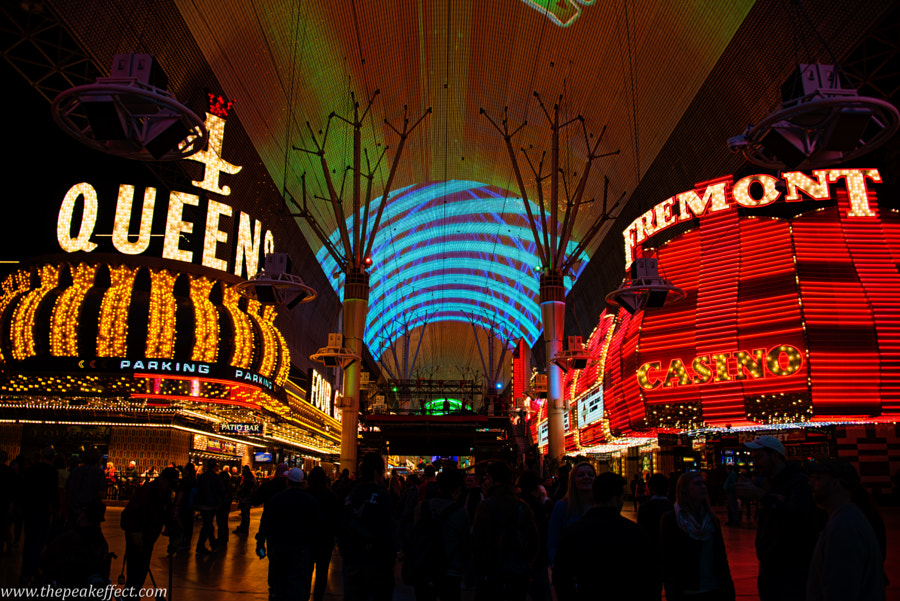 Fremont Street by Donato Scarano on 500px.com