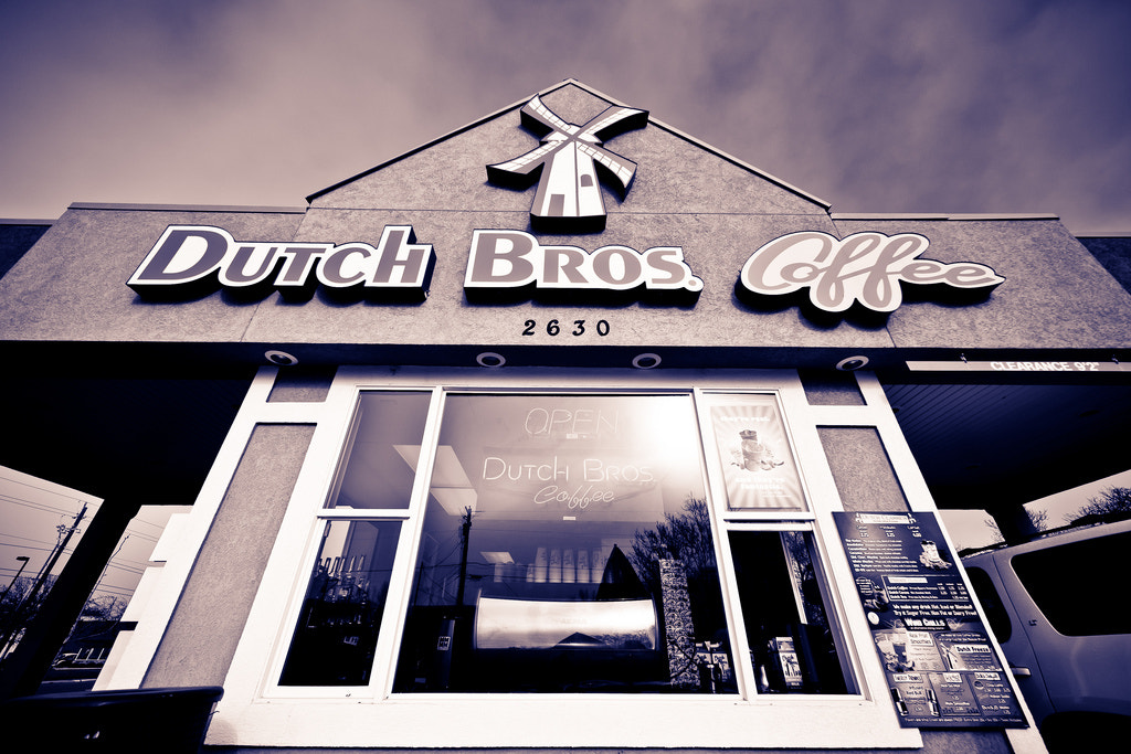 Photograph Dutch Bros. Coffee by Dylan Howell on 500px