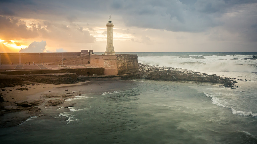 Photograph Rabat - Fort de la Calette Lighthouse by Amine Fassi on 500px