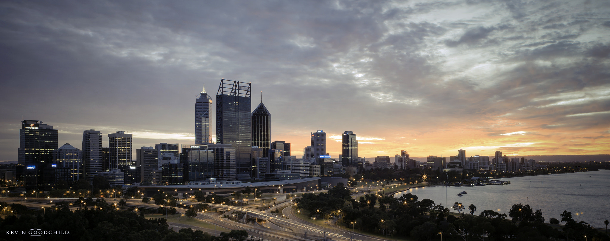 Photograph Perth City Sunrise by Kevin Goodchild on 500px