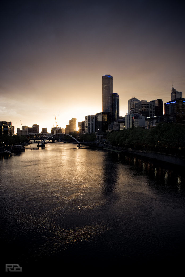 Photograph Sunset on the Yarra by Robert Brienza on 500px