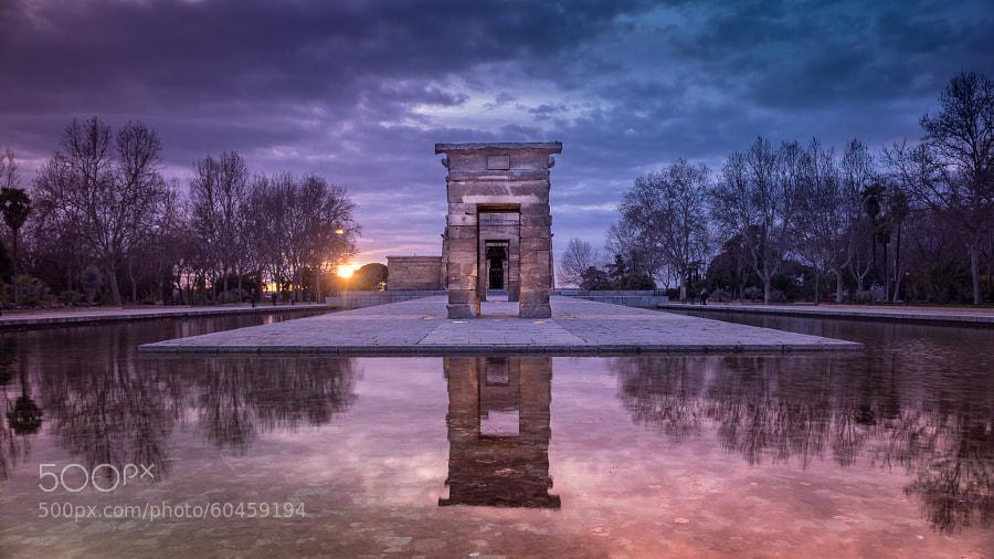 Photograph Temple of Debod (Madrid) by Carlos Fernandez de la Peña on 500px