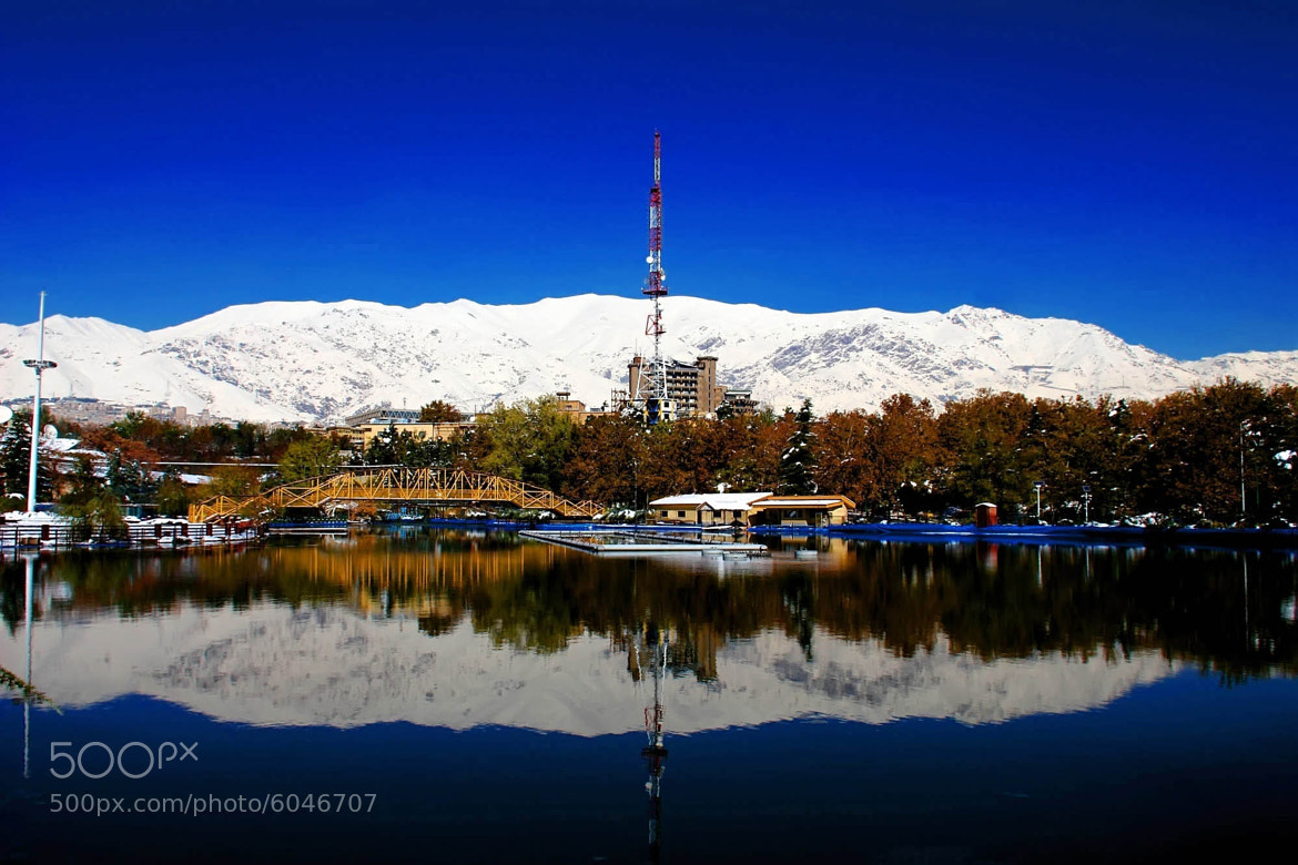 Photograph TV station from Mellat Park by Hamid Alian on 500px